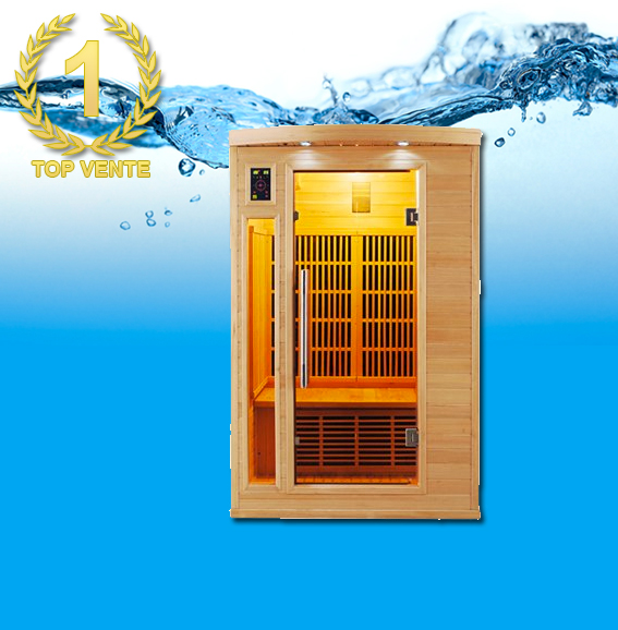 APOLLON 2P Infrarouge sauna