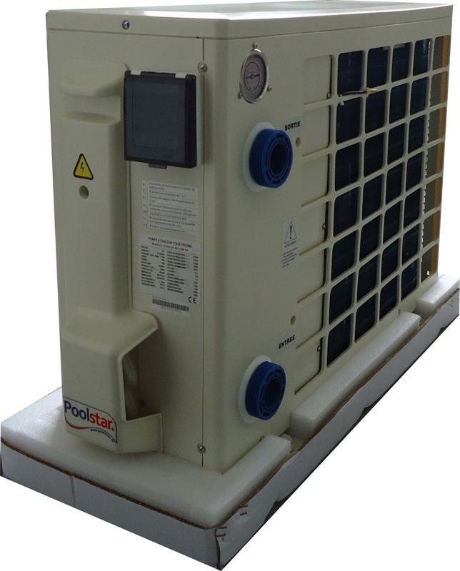 Poolex 6 5kw pour 45m3 pompe chaleur piscine for Calcul puissance pompe a chaleur pour piscine