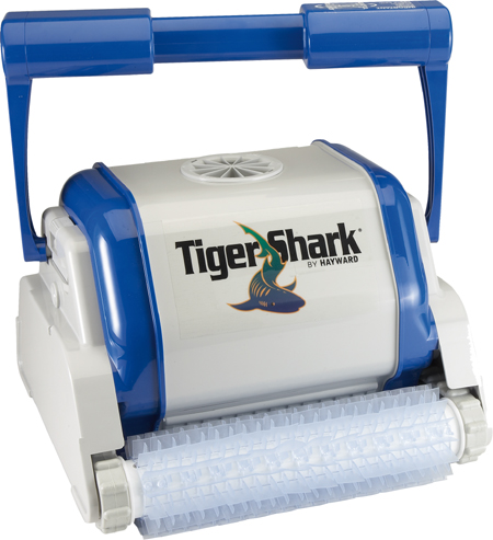Tiger Shark QC brosses picots robot piscine sans chariot de transport