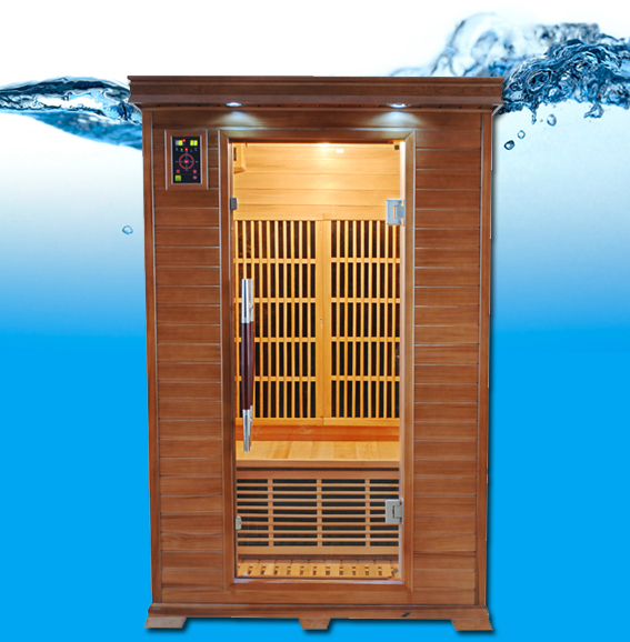 Luxe 2 p infrarouge sauna for Boutique de la piscine
