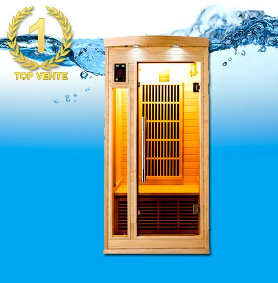 Apollon 1 place sauna infrarouge - Sauna infrarouge 1 place ...