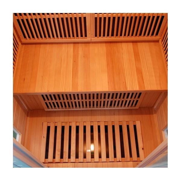 Sauna soleil blanc 2 places - Consommation electrique sauna infrarouge ...