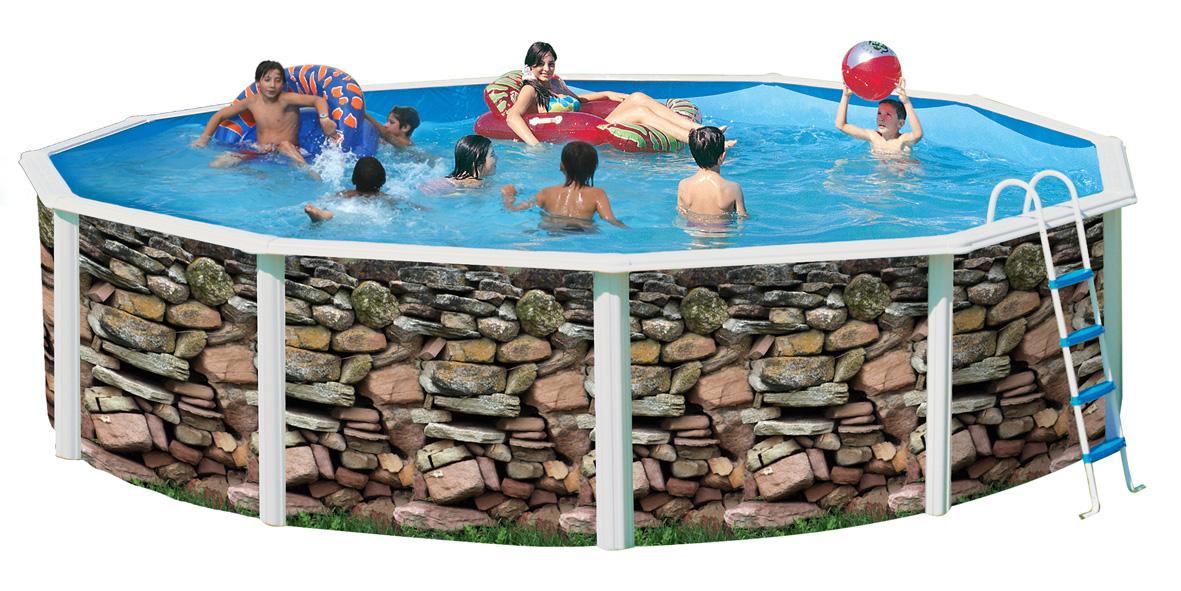 Piscine hors sol muro circular 550 cm for Boutique de la piscine