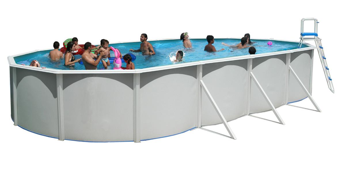 Piscine hors sol serie ovalada 730 x 366 cm x 1 20 m for Boutique de la piscine
