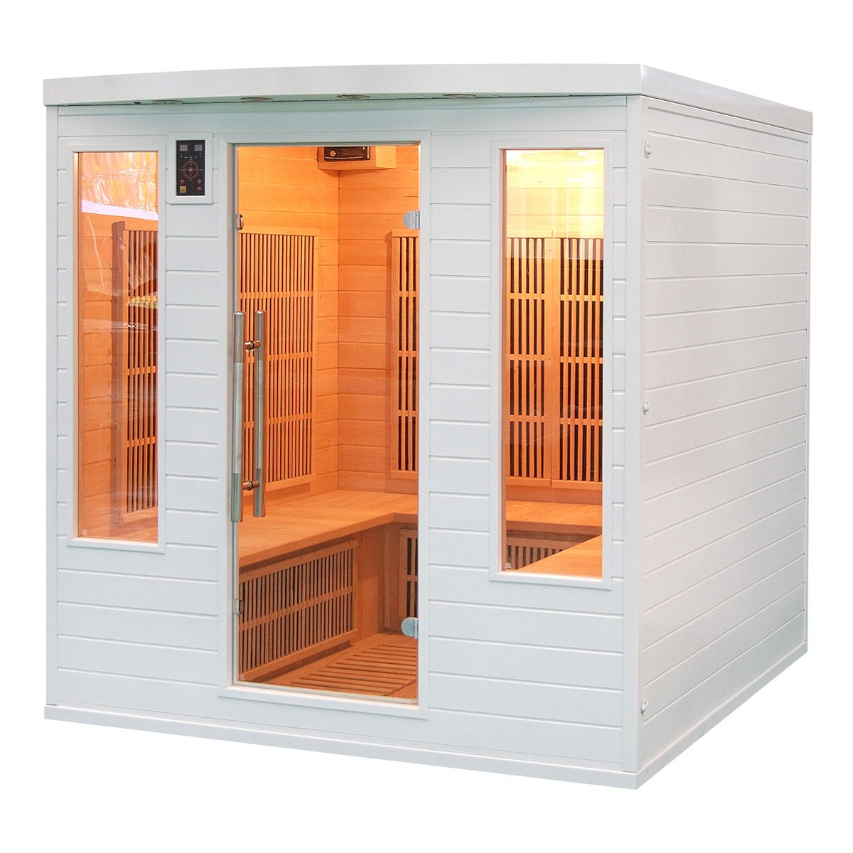 Sauna soleil blanc club 4 5 places - Bienfaits du sauna ...