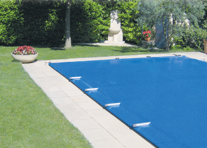 Couverture barres vivaldi forme rectangle longeur for Sangle enrouleur piscine