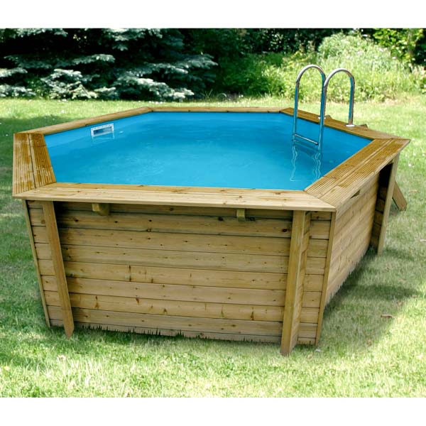 Ubbink cpiscine bois azura 410 cat gorie piscine for Boutique de la piscine