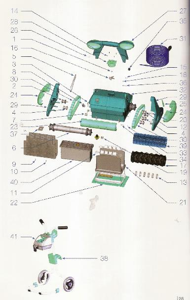 Sac filtrant pour robot piscine zodiac indigo for Robot piscine zodiac indigo
