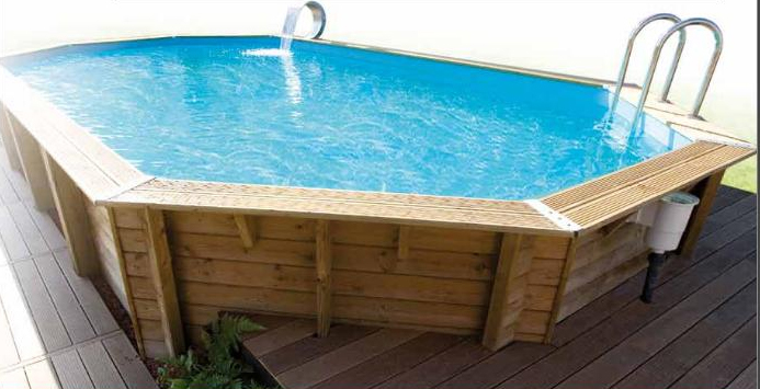 Piscine ocea 6 10 x 4 m bleue for Boutique de la piscine