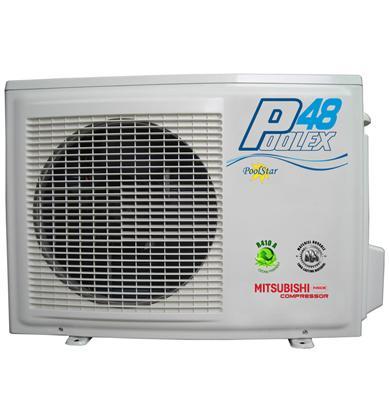 poolex 4 8kw pour 30m3 pompe a chaleur piscine. Black Bedroom Furniture Sets. Home Design Ideas