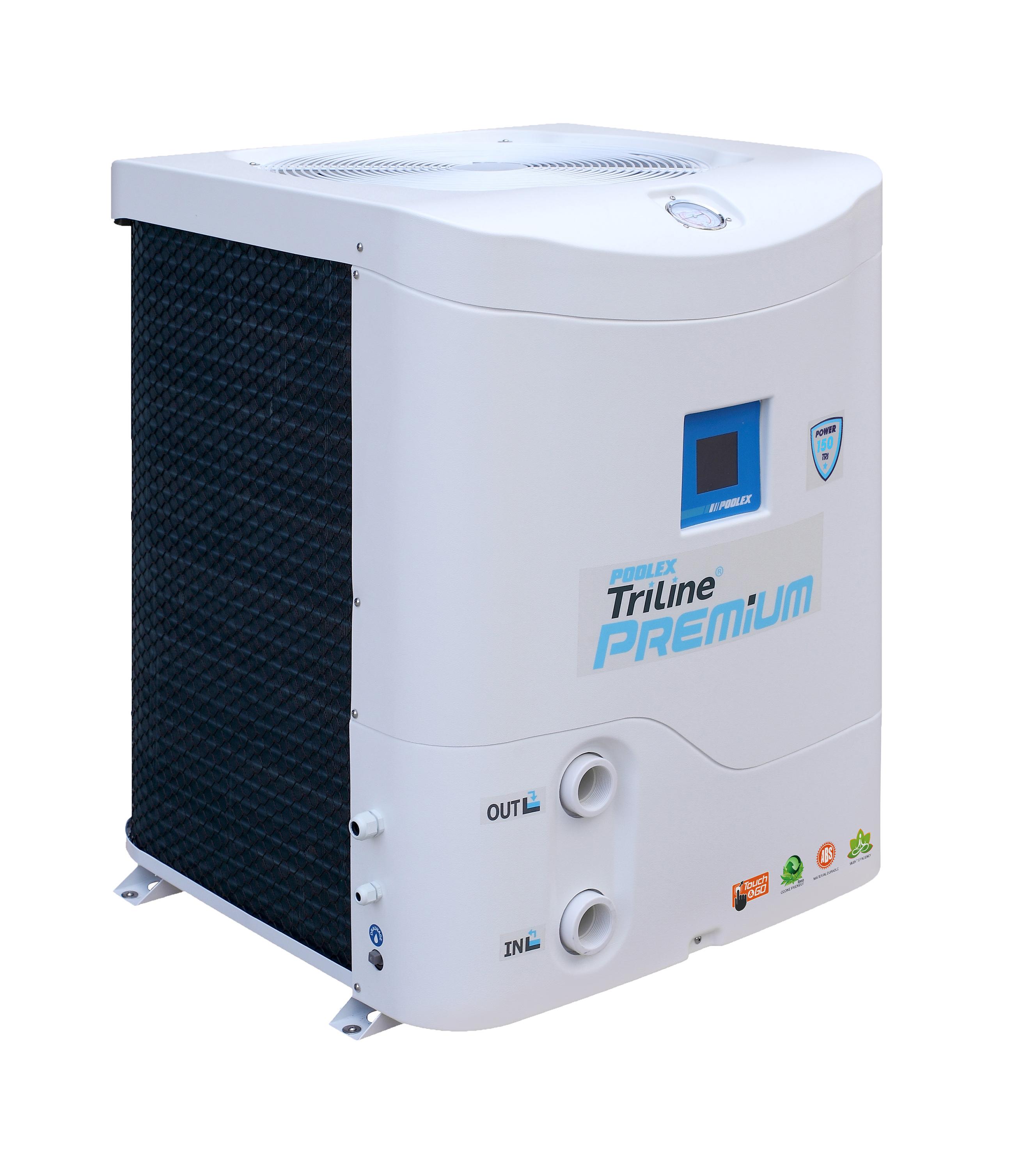 triline220 180m3max modele premium chauffage piscine par pompe a chaleur pisicne poolex. Black Bedroom Furniture Sets. Home Design Ideas