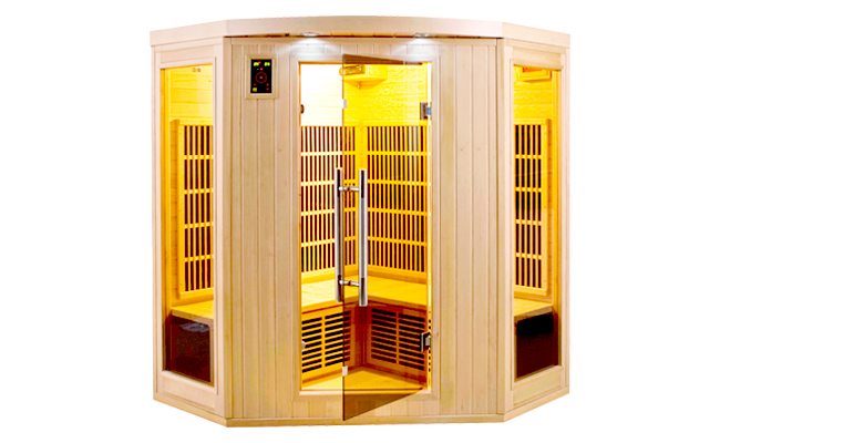apollon 3 4 p infrarouge sauna promo. Black Bedroom Furniture Sets. Home Design Ideas